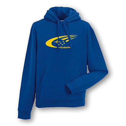 subaru-swoosh-mens-car-hoodie-size-m-blue