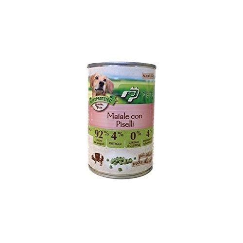 12 scatolette umido per cani adulti Monoproteico Grain Free 150 grammi prodotto in italia VARI GUSTI 1,30€ a scatoletta