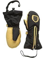 Racer Twister–Manoplas de esquí, color Negro - negro, tamaño 4 años (talla del fabricante: E 4 años)