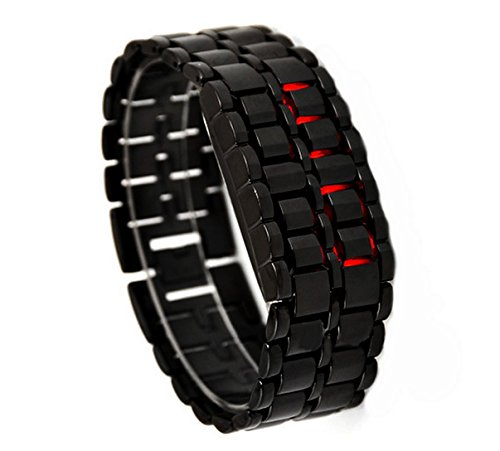 red-light-black-metal-strap-lava-style-digital-led-watch