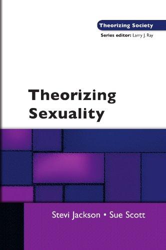 Theorizing Sexuality (Theorizing Society)