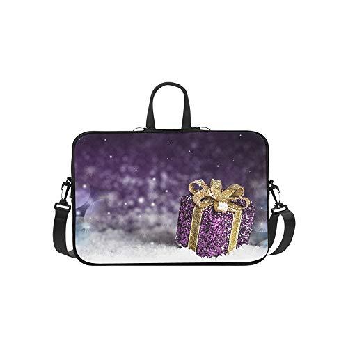 (Christmas violett glänzenden Geschenk Gold Bug Foto)