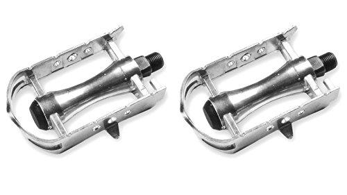 Fahrradpedale, Retro, Vintage, aus Aluminium, für Rennrad, Fixie, M-14 3195 -