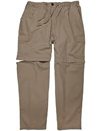Zipp-Off-Hose in khaki von Abraxas in Übergrößen bis 10XL