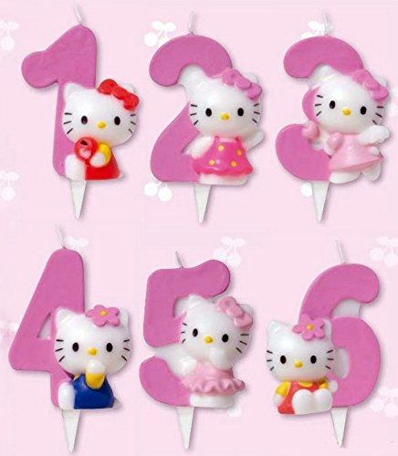 candela-numerale-5-hello-kitty-candeline