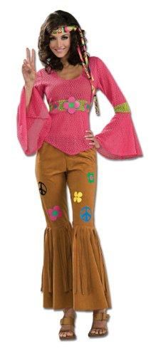 Rubies 2 889077 - Kostüm Hippie Woodstock ()