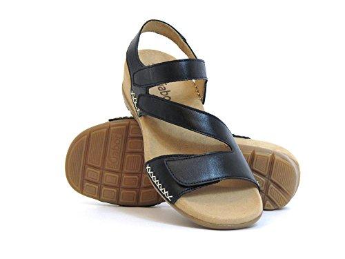Gabor Damen Sandaletten schwarz 63.734.27 Schwarz