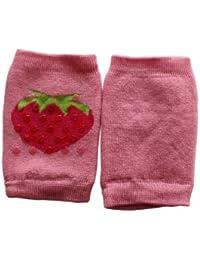 Weri Spezials. Schutz für Knie. Krabbelhilfe mit ABS. Erdbeeren Motiv.