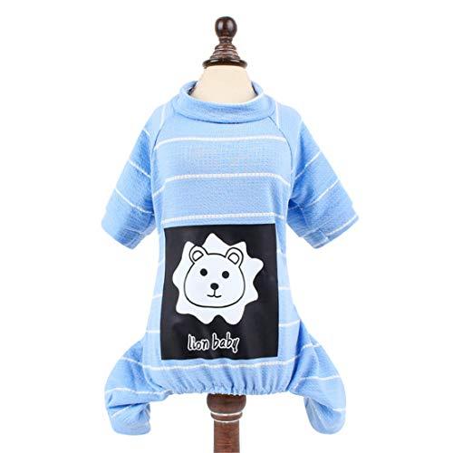 Lisay Dog Pet Puppy Fit Verkleidungen Verschleißfesten Outdoor Pet Warme Kleidung Haustier Cute Kostüme Comfort Fit Verkleidungen Niedlich Vest Wintermäntel (Cute Dog Kostüm Muster)