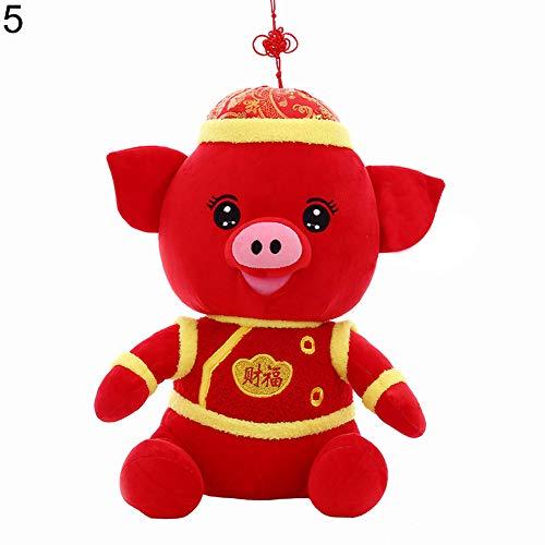 xMxDESiZ 2019 Schweinchen für Neujahr, Porzellan, Kostüm, Party-Dekoration, -