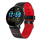 Chenang Touchscreen Smartwatch, Health & Fitness Smart Watch Wasserdicht IP68 Fitness Tracker Uhr Farbbildschirm Schlafmonitor Pulsuhren