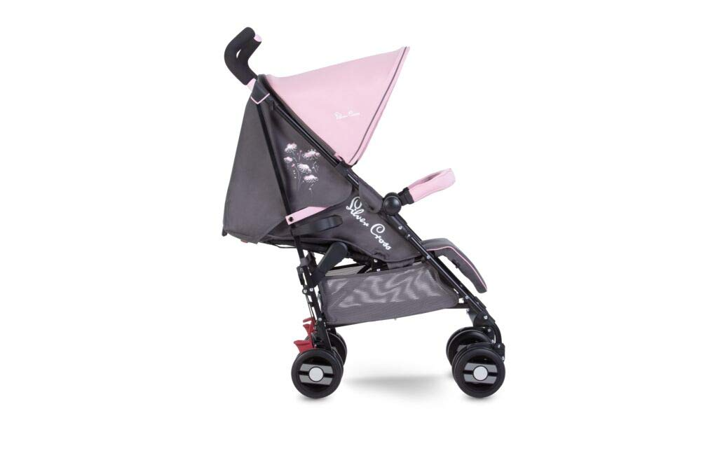 Silver Cross Pop Star Dancing Daisy Silver Cross Suitable from birth to a maximum weight of 25kg Fully extendable, ventilated hood for ultimate sun protection; rain cover included Wide seat and tall back rest for growing little girls and boys 2
