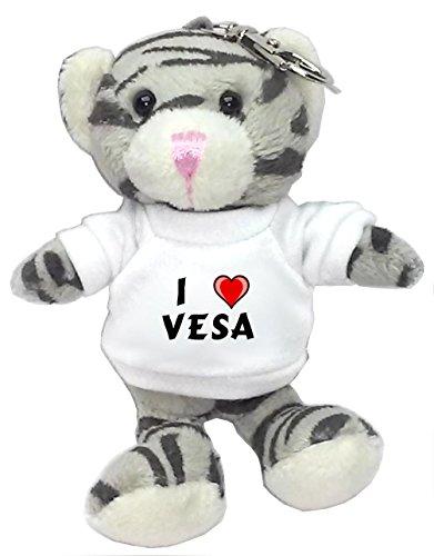 gray-cat-plush-keychain-with-i-love-vesa-first-name-surname-nickname