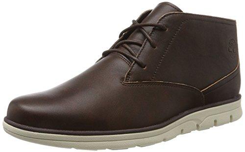 Timberland Herren Bradstreet Plain Toe Chukka Boots, Braun (Tortoise Shell), 46 EU (Herren Leder Chukka)