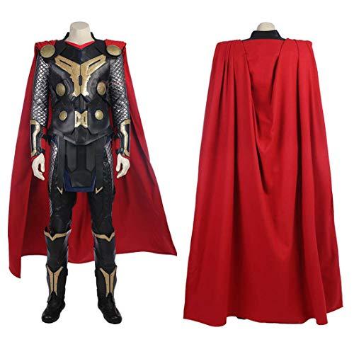 BLL Thor: die dunkle Welt Thor Odinson Cosplay Kostüm, Halloween Freizeit cool Mann Outfits Women-XS (Coole Männer Outfits Für Halloween)