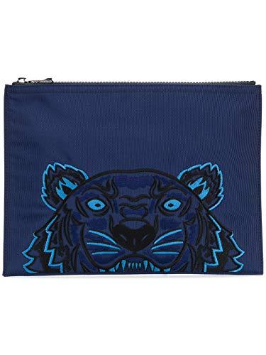 Kenzo Pochette Uomo F005pm302f2076 Poliestere Blu