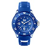 Ice-Watch - Ice Aqua Marine - Blaue Jungenuhr mit Silikonarmband - 001455 (Small)