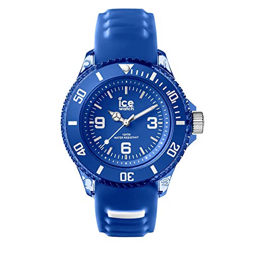 Ice-Watch - Ice Aqua Marine - Blau Herrenuhr mit Silikonarmband - Chrono