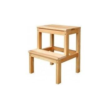 Ikea 601 788 87 Bekvam Marchepied Utilitaire En Bois De Couleur