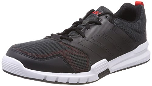 online store 2c31b f26af adidas Essential Star 3 M, Chaussures de Running Homme, Multicolore Carbon  S18 core