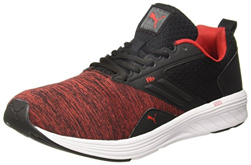 Puma Men's Comet IPD Black-High Risk Red Shoes-10 UK/India (44.5 EU)(4059506062728)