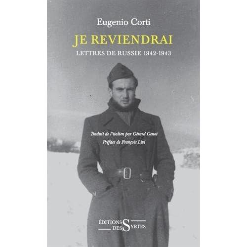Je reviendrai : Lettres de Russie 1942-1943