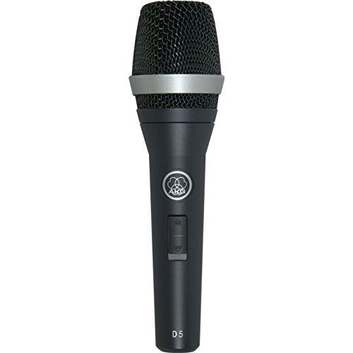 AKG D5S - Micrófono dinámico (para voz, de mano)