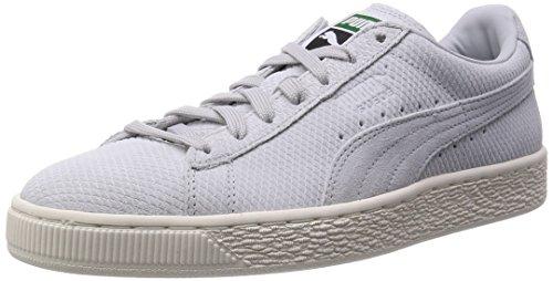 Puma Suede Classic + Mod Heritage, Baskets Basses mixte adulte Gris - Grau (glacier gray-whisper white 03)