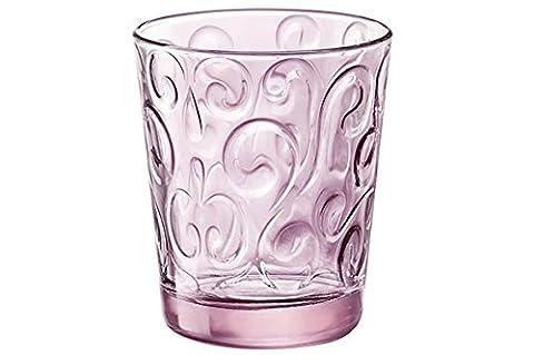 Bormioli 530334-B45 Naos Goblet Verre Rose 29 cl Set de
