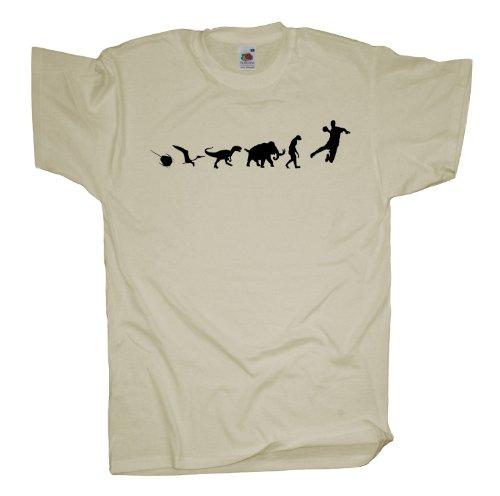 Ma2ca - 500 Mio Years - Handball T-Shirt Natural
