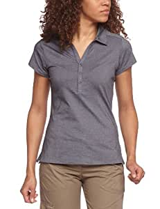 Columbia Shadow Time Polo femme noir FR : S (Taille Fabricant: S)