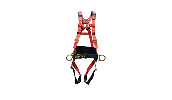 Elk River 62451 WindEagle Polyester//Nylon 4 D-Ring LE Harness with Quick Connect Buckles Small Inc
