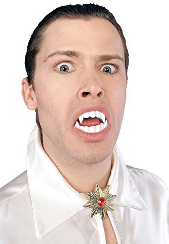 Halloween-Kostüm-Zubehör, Vampir-Zähne, Einheitsgröße (Vampir Kostüm Zubehör)