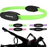 MSPORTS Pilates Ring Premium I Widerstandsring - Doppelgriff Pilates Yoga Ring...