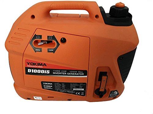 Generatore di corrente silenziato -1200 w portatile inverter ultima generazione presa usb tensione 230v 16a silenzioso 56 db alimentazione benzina 4 tempi adatto auto camper campeggio