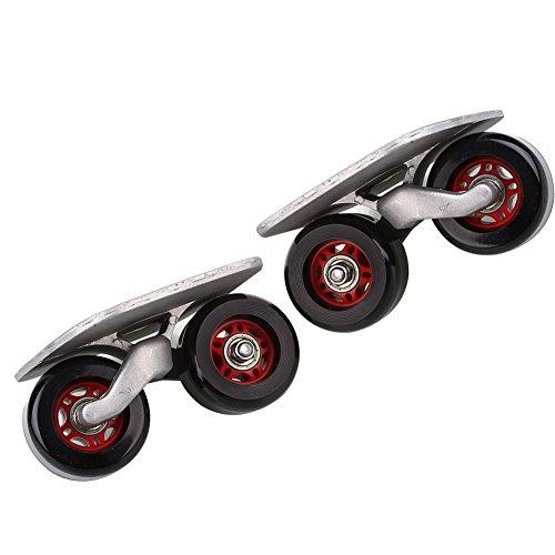 Beautyrain Drift Vorstand Driftboard Skates Anti Skid Skating Bord Skateboard Sport Motorroller Tragbarer für Außen Unterhaltung Convenience