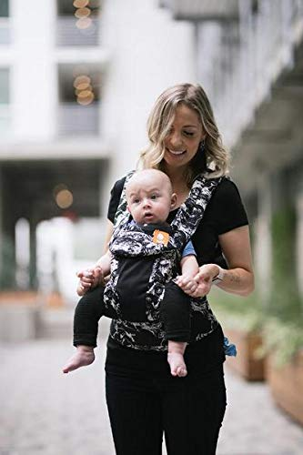 Baby Tula Coast Explore Mesh Baby Carrier 3.2 - 20.4 kg, Adjustable Newborn to Toddler Carrier, Multiple Ergonomic Positions Front/Back, Breathable - Coast Marble, Black/White Marble with Black Mesh Tula STAY COOL MESH CARRIER PANEL: Large mesh panel provides extra ventilation for optimal breathability to keep wearer and baby cool. BREATHABLE & LIGHTWEIGHT MATERIAL: Soft and lightweight 100% cotton with a large breathable mesh panel and hood that's easy to clean and machine washable. EVERY CARRY POSITION YOUR BABY WILL NEED, INCLUDING FACING OUT: Multiple positions to carry baby including front facing out*, facing in, and back carry. Each position provides a natural, ergonomic position best for comfortable carrying that promotes healthy hip and spine development for baby. 6