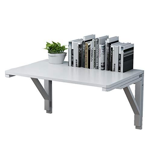 XXHDYR Wandmontierter Drop-Leaf-Tisch Klapptisch Esszimmer Computer Kaffee Schreibtisch Space Saver Weiß Klapptisch (Size : 100 * 50cm) -