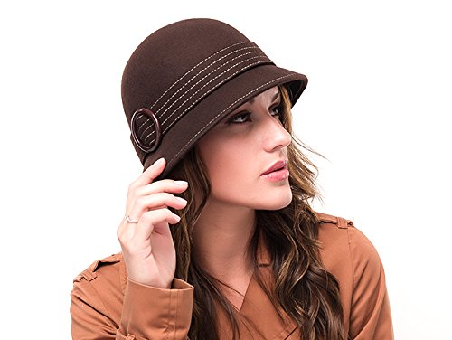 marron-avec-cloche-vintage-en-laine-chapeau-celia
