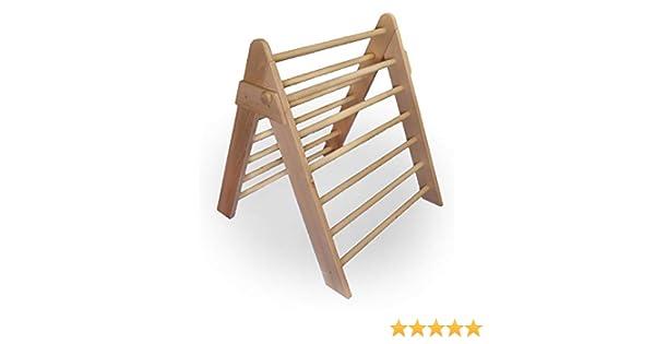 Kletterdreieck Pikler Gebraucht : Baby kletterdreieck dreiecksständer klappbares