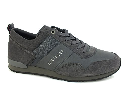 Tommy Hilfiger Fm56821680 Sneaker UOMO Grigio, Taglia 42