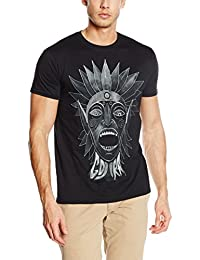 Plastic Head Men's Gojira Scream Head Banded Collar Short Sleeve T-Shirt