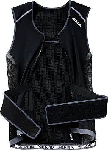 ALPINA Herren JSP 3.0 Vest Rückenprotektor, Black-White, L