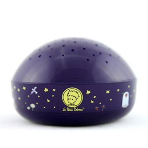 El Principito Luz nocturna LED Proyector de estrellas, limpieza fš¢cil, sensor tš¢ctil, con Temporizador de apagado automš¢tico de Lumitusi