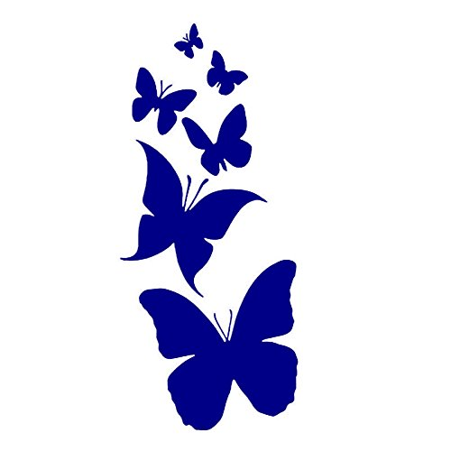 KCD Family of Butterflies Vinyl Decal Sticker | Cars Trucks Vans Walls Laptop | Purple | 7 X 3 Inch | Keen25PR Pavillon-laptop-notebooks