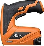 Goobay 55599 Akku-Tacker, 40 Klammern pro Minute maximal 12 mm