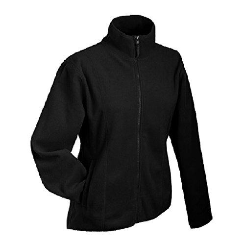 JAMES & NICHOLSON Leichte Jacke aus Microfleece Black