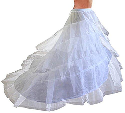 Cancan en forma de cascada para vestidos de boda