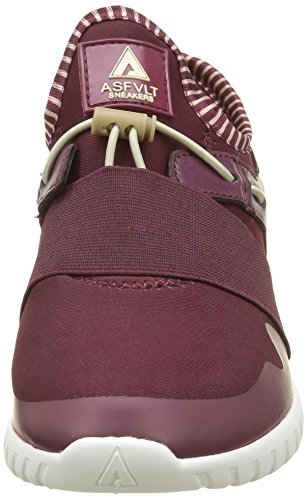Asfvlt Area Mid, Baskets Basses Mixte Adulte Rouge (Cabernet Sand)