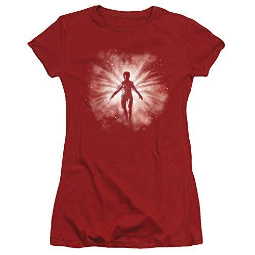 Star Trek Juniors T-Shirt Red Angel Cardinal Tee, 2XL - Star Red Shirt Trek